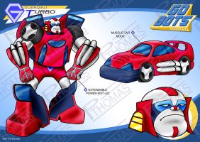 Gobots Animated Turbo by PWThomas