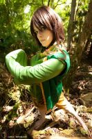 Earthbender, forest bender by hiddentalent1