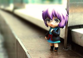 Yuki Nagato - Disappearance. by Bosch91