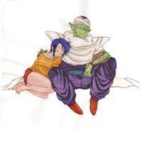DBZ OC - Piccolo's love by Fatenight