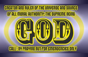 business card : God 2014 by darshan2good