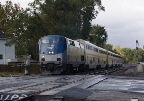 Amtrak 21 421 on the CEI by JamesT4