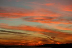 1-18-13 Sunset 7 by Arisingdrew