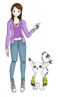Myself as a digidestined by Aso-Designer