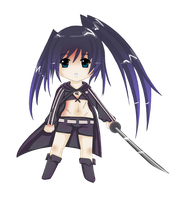 Black Rock Shooter by MagicMoonBird