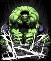 Hulk SMASH!! by jrivera1090