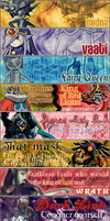 Legend of Zelda Signatures by Aerostella