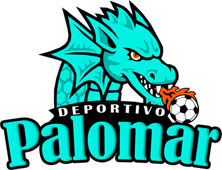 VECTOR INSIGNIA DEPORTIVO PALOMAR by briankdsgn