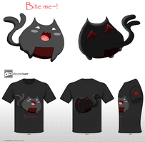 +Devil Onigiri Kitty+ by Anigirl5