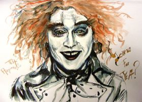 Mad Hatter Johnny Depp by LizDouceFolie
