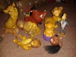 New Lion King Figures! by Daniellee14