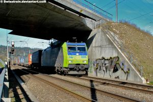 BLS Re 485 005-3 by SwissTrain
