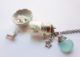 Salt Water Taffy Bottle by WaterGleam