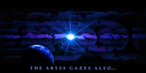 The Abyss Gazes Also... by InvisibleAvatar