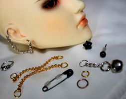 earring collection by Kaalii