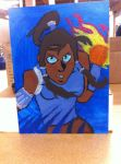 Legend of Korra painting by SpicyTaco1