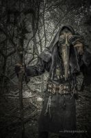 Steampunk Plague Doctor by steamworker