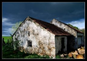 Stormy shed by MessiahKhan