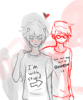 Davekat :Not Gay: by RemiNyao