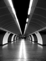 metro in wien by mandragolaa