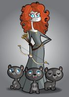 Merida by kungfumonkey