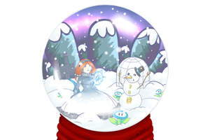 :CE: The Globe of Snow by luigirules64