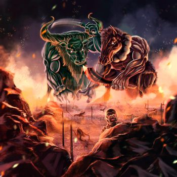 Gozu and Mezu The guardians of hell by K-artss