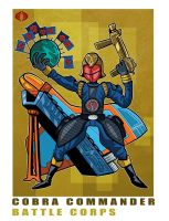 G. I. Joe Fan Art: Battle Corps Cobra Commander by ehudsbloodysword