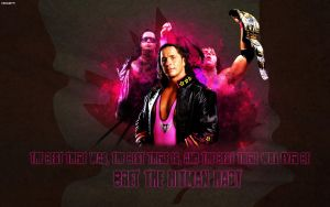 Bret The Hitman Hart by Vicc2k9