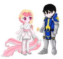 The Knight and the Princess by FadedDreams5