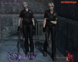 Sheila McDougal Injured and Zombified Pack by RECBDRAKEplz