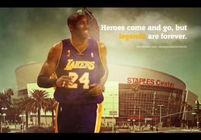 Kobe Bryant wallpaper by RafaelVicenteDesigns