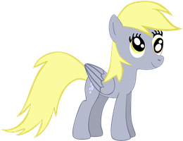 My very first vector of, Derpy Hooves. by Flutterflyraptor