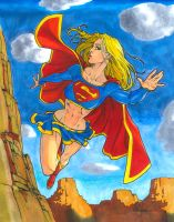 Copic Colors No12 - Supergirl by ChrisShields