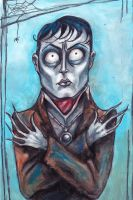 Tim Burton Style Barnabas Collins by RKal