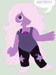 Amethyst! by CrossDressingPanda