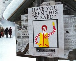 have you seen this wizard? by insanespamking