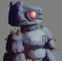 Rock Golem by betawho