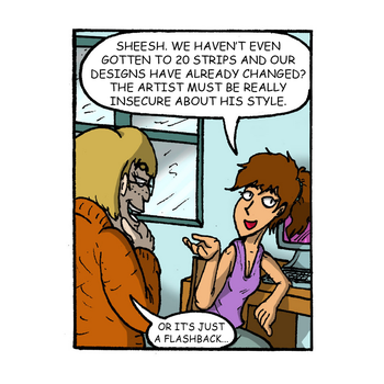 Update: My Roommate, The Internet Strip #12 by magusVroth