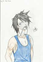 Gray Fullbuster AU colored by MartiaLae