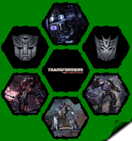 Transformers War for Cybertron by WE4PONX
