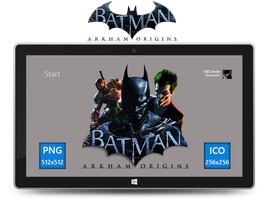 Batman Arkham Origins Icon by Ni8crawler