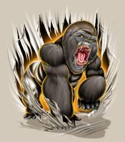 GORILLA MAD by BROWN73
