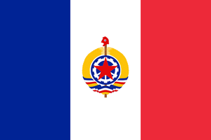 Flag of the French Republic (Communist) by JJDXB
