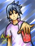 Sasuke MasterAki New Beginnings CHEERS! by MasterAki