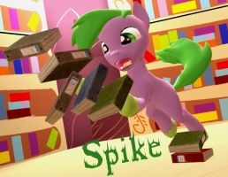 Spike - pony version by Neros1990