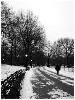 001. walking home in the snow. by airwaves