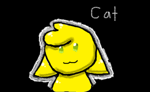 Yellow Cat by goodlucklight