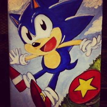 Classic Sonic :canvas: by Mitzy-Chan