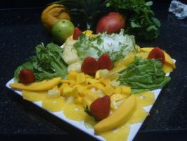 Tropical Salad by Markhal